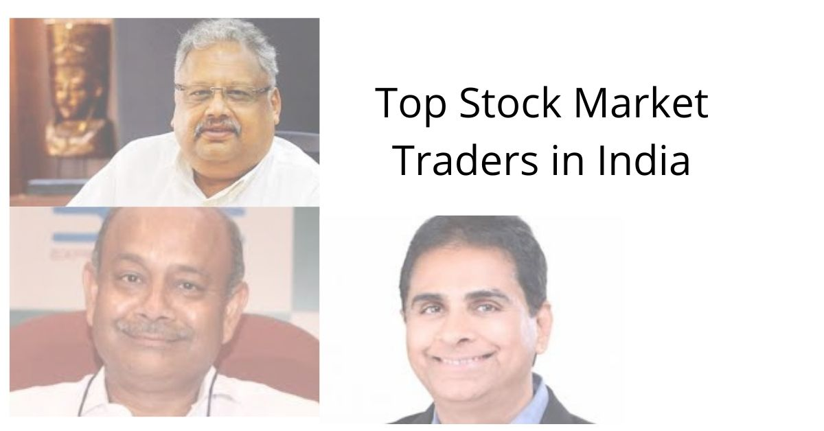 top stock market traders in india